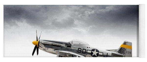 North American P-51 Mustang Yoga Mat