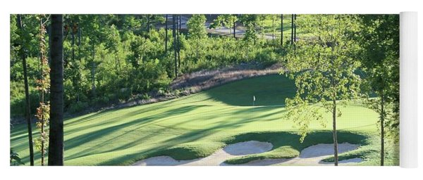 North Carolina Golf Course 12th Hole Yoga Mat