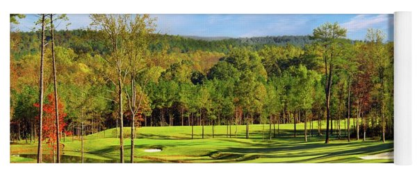 North Carolina Golf Course 14th Hole Yoga Mat