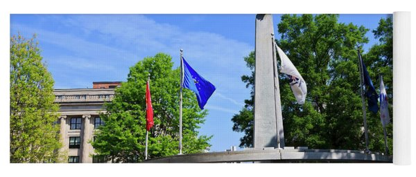 North Carolina Veterans Monument Yoga Mat