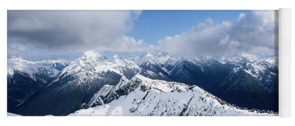 North Cascade Mountains Yoga Mat