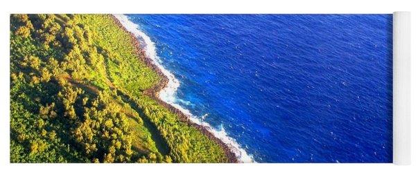 North Coast Of Tinian At Sunrise Yoga Mat