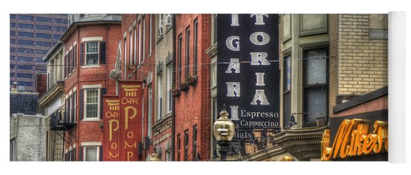 North End Charm 11x14 Yoga Mat