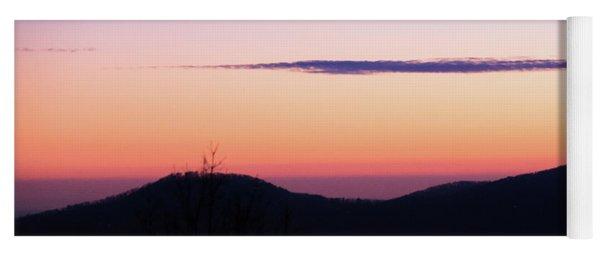 North Georgia Mountains At Twilight Yoga Mat