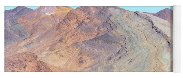 Yoga Mat featuring the photograph North Of Avawatz Mountain by Jim Thompson