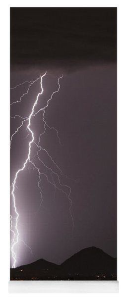 North Scottsdale Lightning Strike Yoga Mat