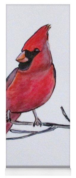 Northern Cardinal Yoga Mat