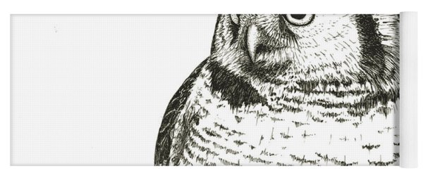 Northern Hawk-owl Yoga Mat