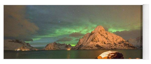 Spectacular Night In Lofoten 3 Yoga Mat