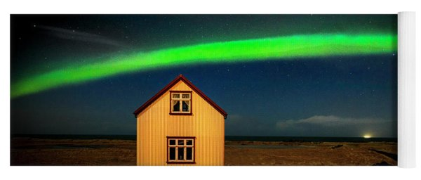 Northern Lights Of Iceland 1 Yoga Mat