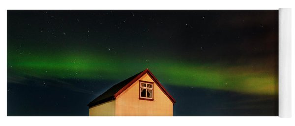 Northern Lights Of Iceland 2 Yoga Mat