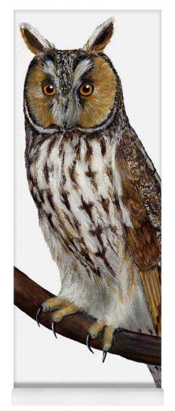 Northern Long-eared Owl Asio Otus - Hibou Moyen-duc - Buho Chico - Hornuggla - Nationalpark Eifel Yoga Mat