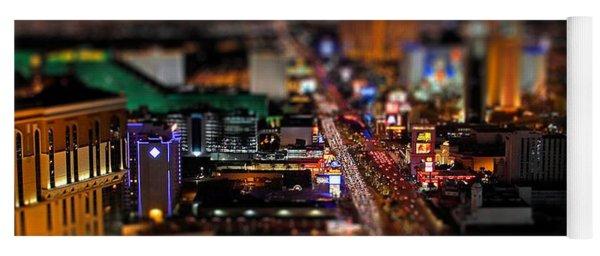 Not Everything Stays In Vegas - Tiltshift Yoga Mat