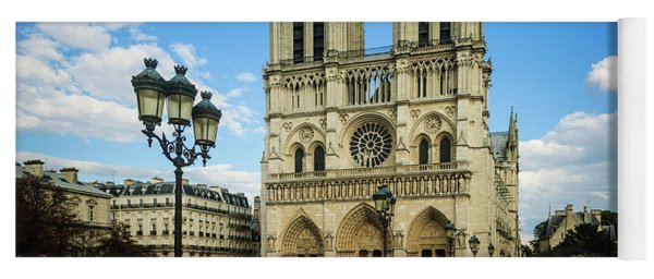Notre Dame Cathedral Yoga Mat