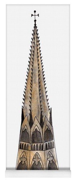 Notre Dame Spire Yoga Mat