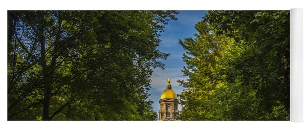 Notre Dame University 2 Yoga Mat