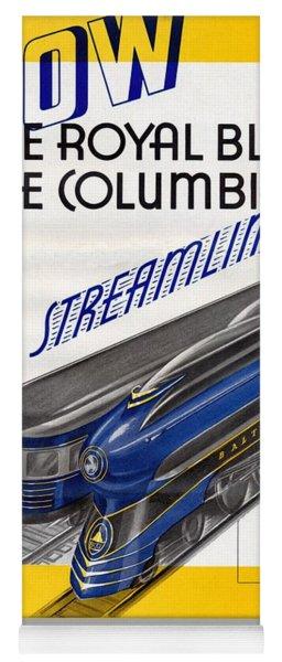 Now The Royal Blue The Columbian Yoga Mat