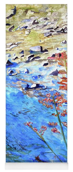 New River Rocks Yoga Mat