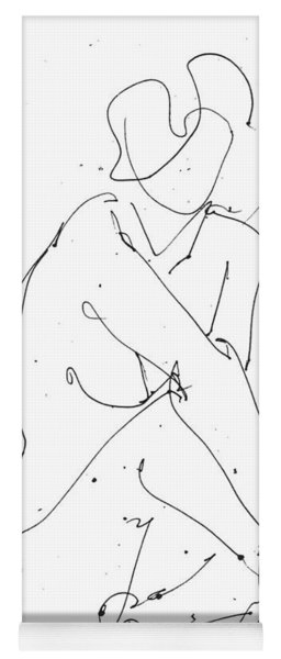 Nude-female-drawing-19 Yoga Mat