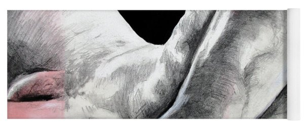 Nude Male Composition  Yoga Mat