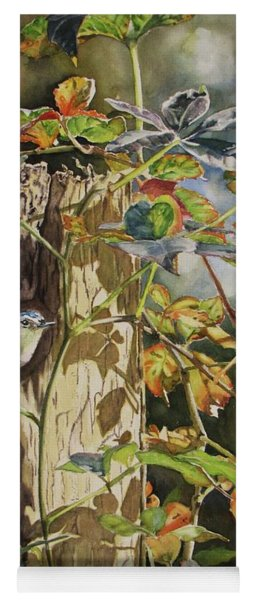 Nuthatch And Creeper Yoga Mat
