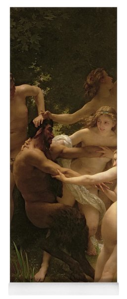 Nymphs And Satyr Yoga Mat