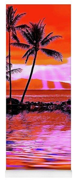 Oahu Island Yoga Mat