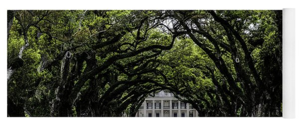 Oak Alley Plantation, Vacherie, Louisiana Yoga Mat