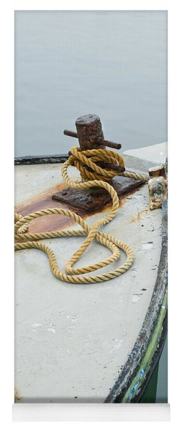Oak Bluffs Fishing Boat Yoga Mat