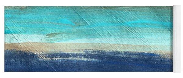 Oak Creek #27 Southwest Landscape Original Fine Art Acrylic On Canvas Yoga Mat