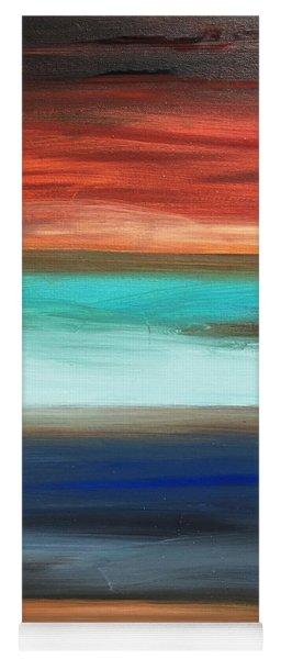 Oak Creek #28 Southwest Landscape Original Fine Art Acrylic On Canvas Yoga Mat