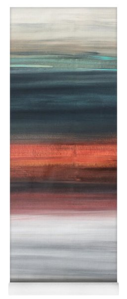 Oak Creek #30 Southwest Landscape Original Fine Art Acrylic On Canvas Yoga Mat