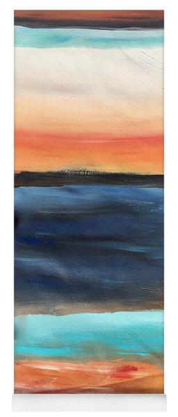 Oak Creek #31 Southwest Landscape Original Fine Art Acrylic On Canvas Yoga Mat