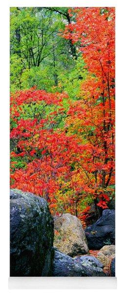Oak Creek Canyon Red Yoga Mat