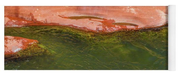 Oak Creek Red Rock Abstract Yoga Mat