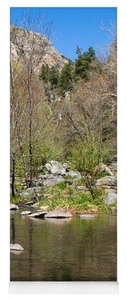 Oak Creek View Yoga Mat