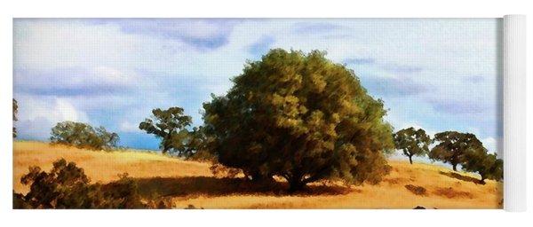 Oak Grasslands Yoga Mat