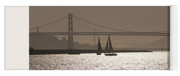 Oakland Bay Bridge IIi Yoga Mat
