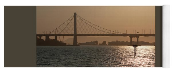 Oakland Bay Bridge Yoga Mat