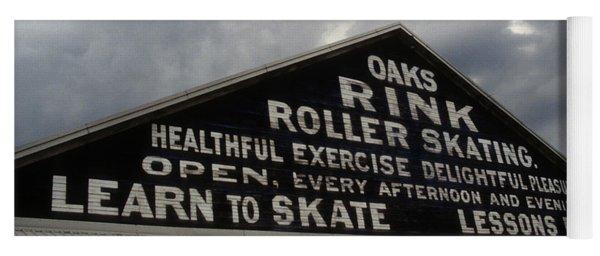 Oaks Skating Rink Yoga Mat