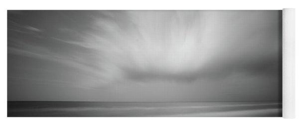 Ocean And Clouds Yoga Mat
