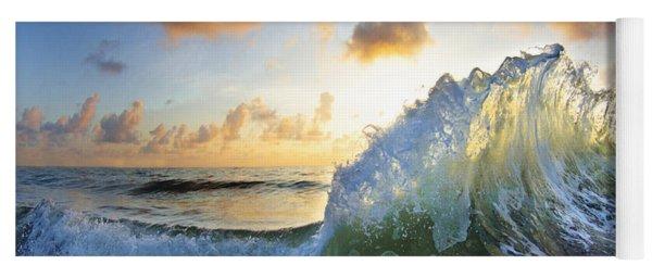 Ocean Bouquet  -  Part 2 Of 3 Yoga Mat