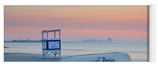 Ocean City New Jersey Before Sunrise Yoga Mat