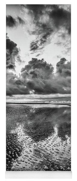 Ocean Clouds Reflection Yoga Mat