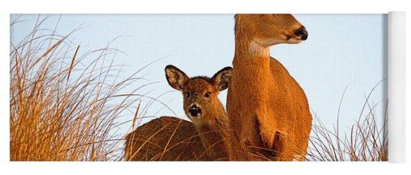 Ocean Deer Yoga Mat