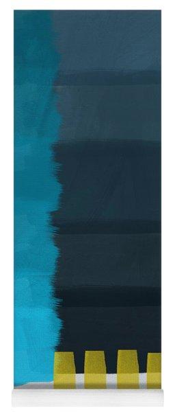 Ocean Front Walk- Art By Linda Woods Yoga Mat