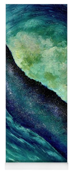 Ocean Meets Sky Yoga Mat