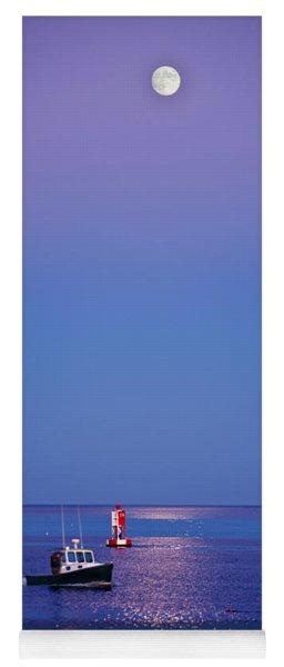 Ocean Moonrise Yoga Mat