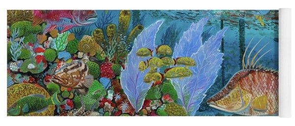 Ocean Reef Paradise Yoga Mat