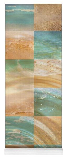 Ocean Ripples Yoga Mat
